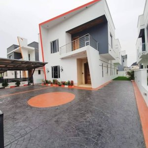 Brand New 4 Bedroom House For Sale In Lekki.