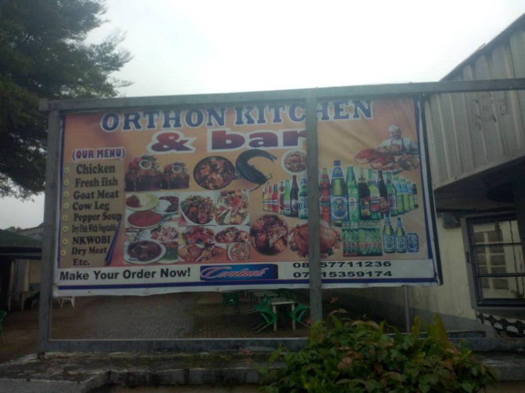 orthon palace kitchen