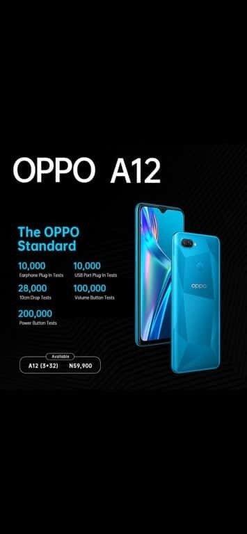 Buy Oppo A12 Standard In Nigeria