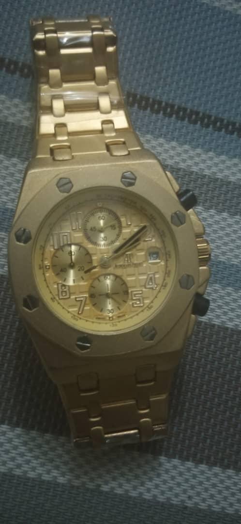 Ap Gold Chain Wrist Watch For Sale In Nigeria