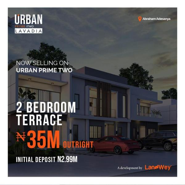 Houses For Sale In Nigeria At Urban Prime 2 Estate Lekki