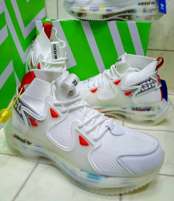 Adidas High Mr Peace Custom Edition In Lagos