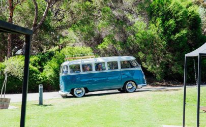 Kombi Van for Hire for Weddings, Birthdays and Special Events with Bridesmaids inside VW Kombi Van Photo Gallery