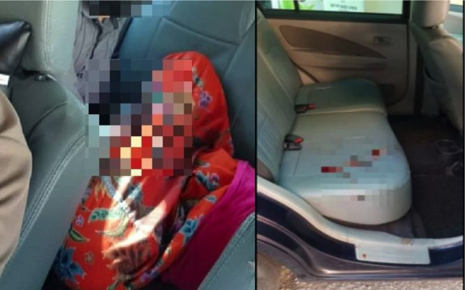 arenagempak.com - Pemandu Grab Cemas, Penumpang Lelaki Tiba-tiba Melompat Ke Seat Belakang