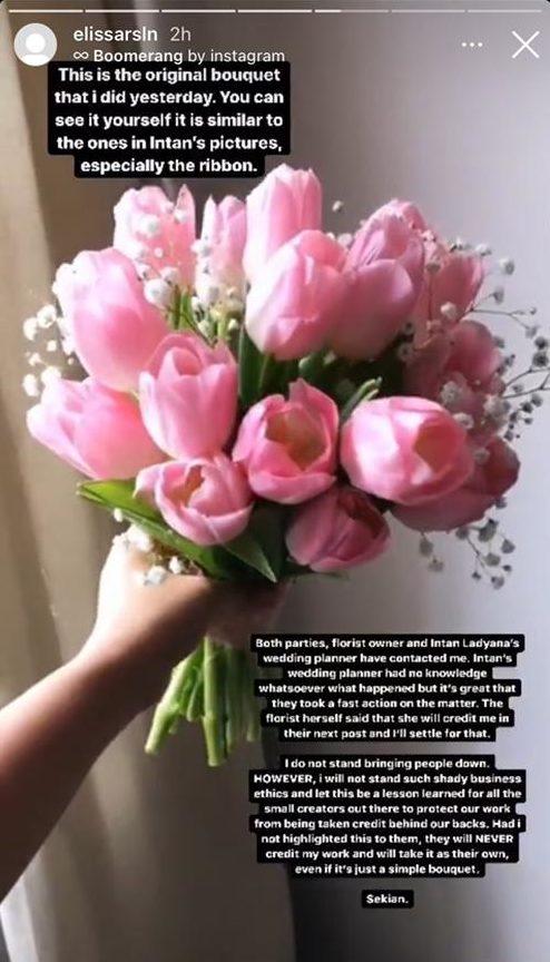 Bunga tangan Intan 1