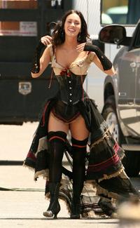 megan fox johan rex Megan Fox in Jonah Hex by Warner Bros
