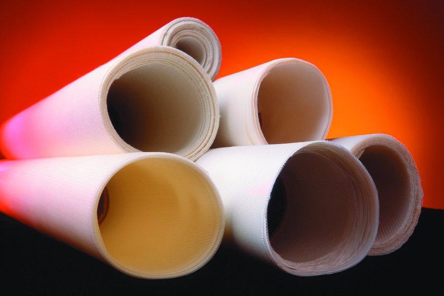 Filter fabric rolls