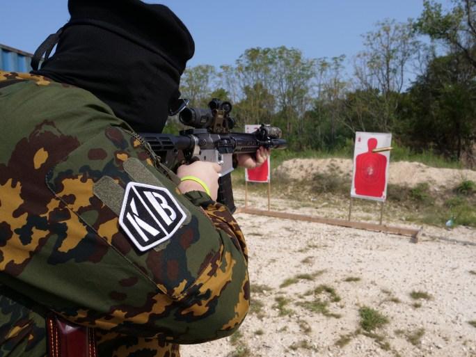 Shooting An 80% AR-15 at Bear Arms N' Bitcoin Range Day
