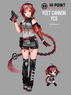 Yeet Cannon T-doll