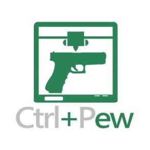 CTRL+Pew Logo