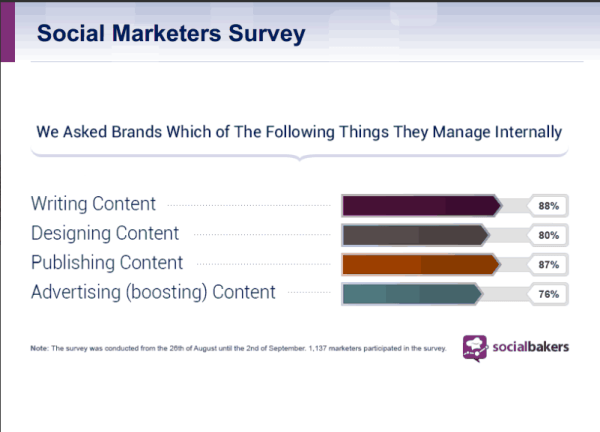 Socialbakers Social Marketers Survey 2013
