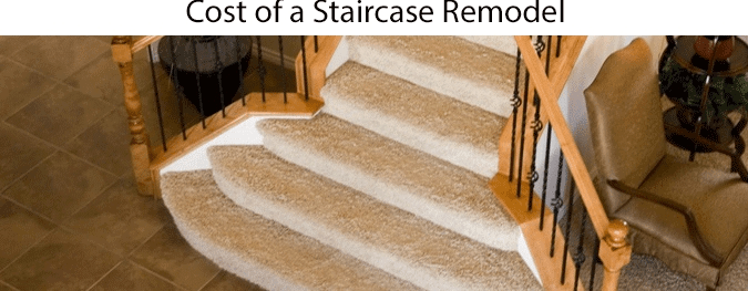 Average Staircase Remodel Cost 2020 How Much Does A New   Average Cost To Carpet Stairs   Measure   Carpet Runner   Handrail   Stair Treads   Carpet Installation Cost