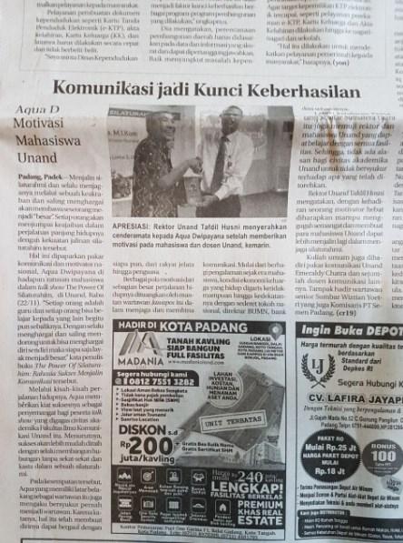 Dahsyatnya Silaturahim, Sejak di Jakarta dan Selama di Sumbar Merasakan Fasilitas VVIP