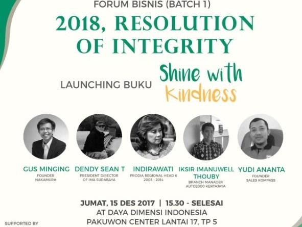 Launching Buku Shine with Kindness