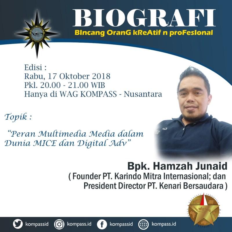 Program Biografi KOMPASS Nusantara 17 Oktober 2018