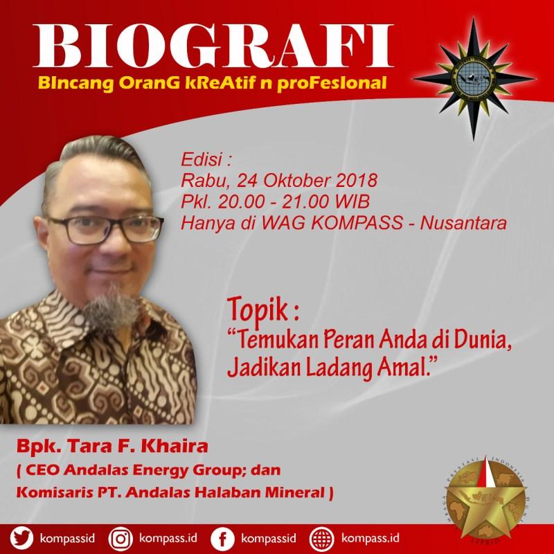 Program Biografi KOMPASS Nusantara 24 Oktober 2018