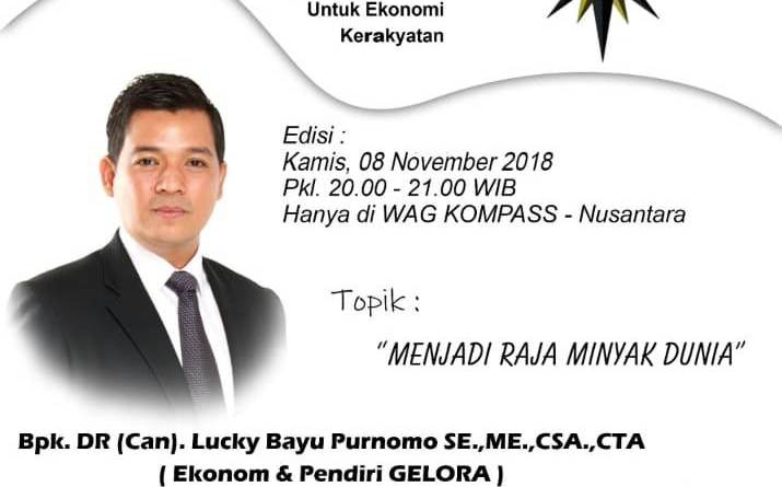 Program GELORA KOMPASS Nusantara 8 November 2018