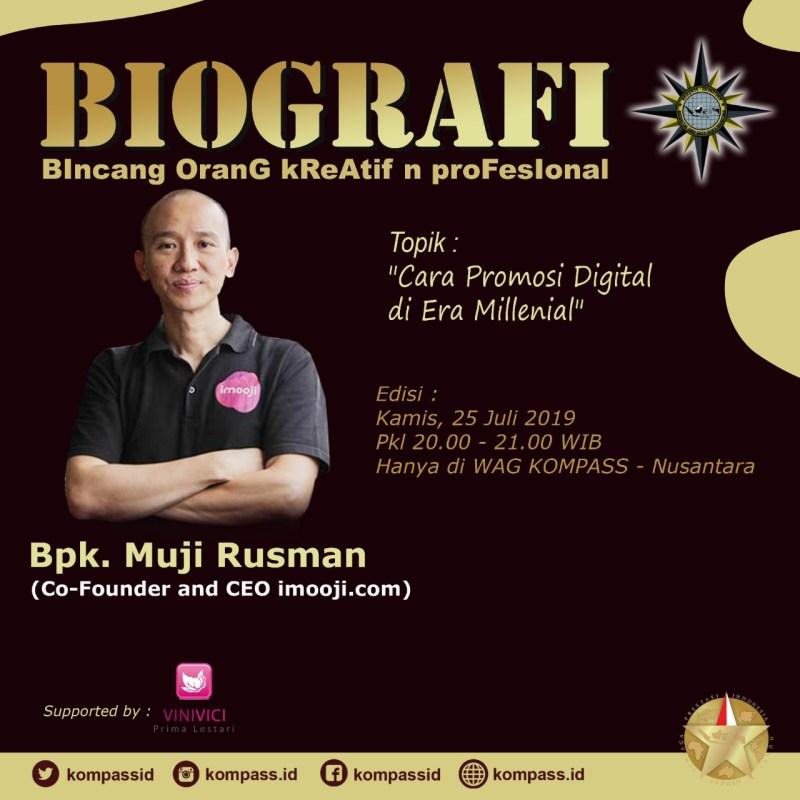 Program Biografi KOMPASS Nusantara 25 Juli 2019