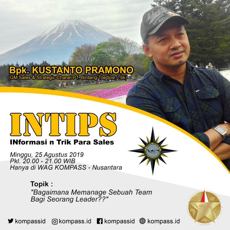 Program INTIPS KOMPASS Nusantara 25 Agustus 2019