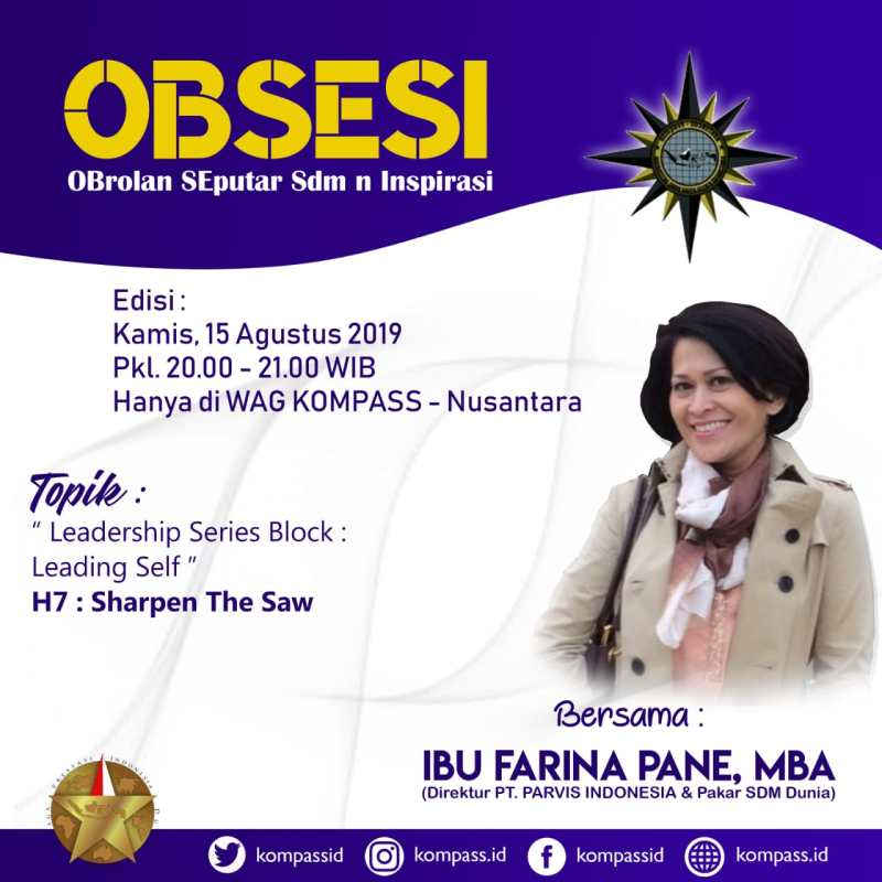 Program OBSESI KOMPASS Nusantara 15 Agustus 2019