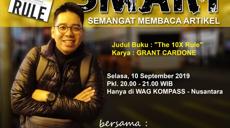 Program SMART KOMPASS Nusantara 10 September 2019
