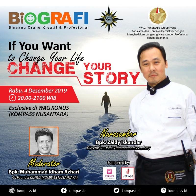Program BIOGRAFI KOMPASS Nusantara 4 Desember 2019