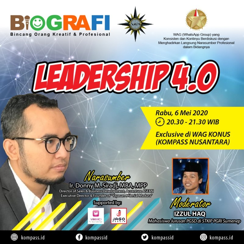Program BIOGRAFI KOMPASS Nusantara 6 Mei 2020