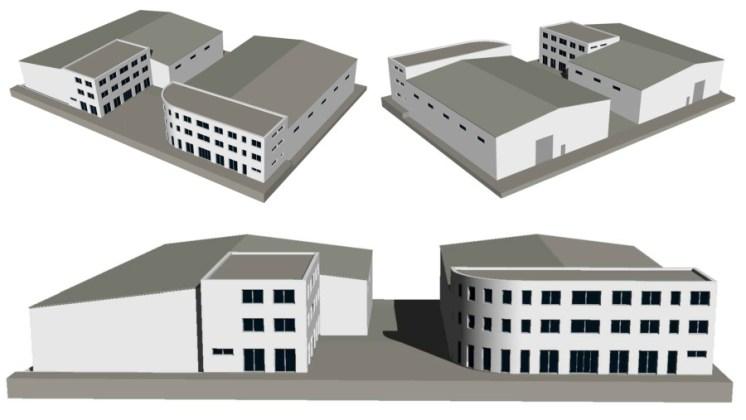 Skladové a administrativní haly II a III, Popůvky u Brna