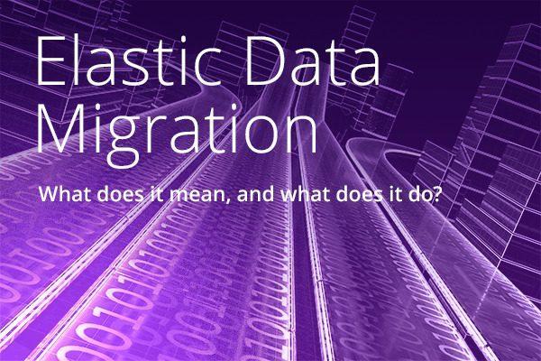 Coding highway showing Elastic Data Migration