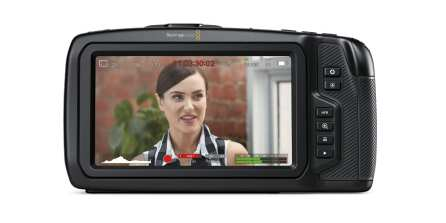 Blackmagic Pocket 4K Cinema Camera (Back)