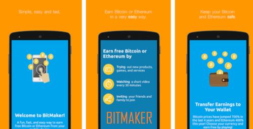 Bitmaker APK BTC