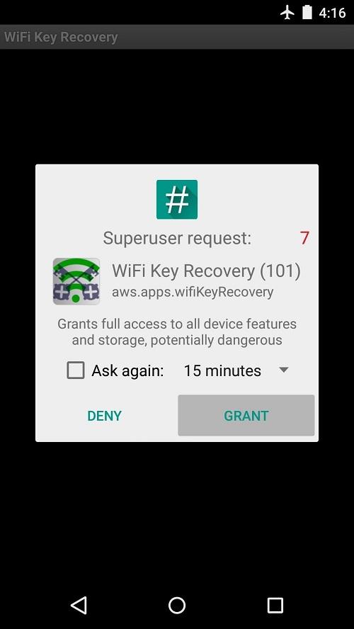 Melihat Password Wifi yang Sudah Connect Dengan WiFi Key Recovery