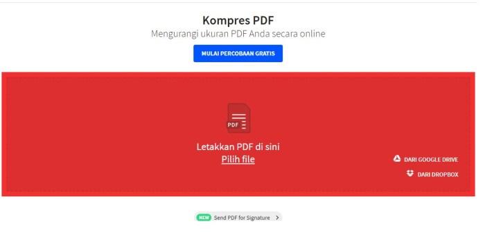 compress pdf dibawah 200kb