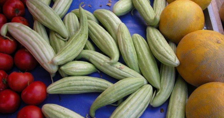 Girit'te bir pazar yeri – SEBZELER