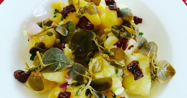 Kaparili Patates Salatası