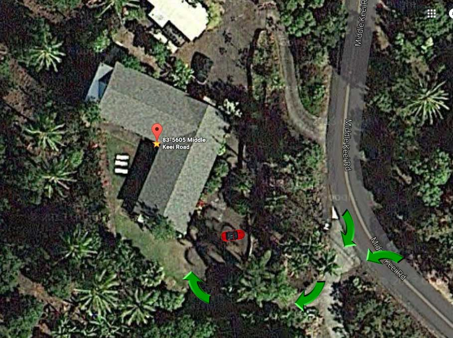 Driveway and Parking Directions