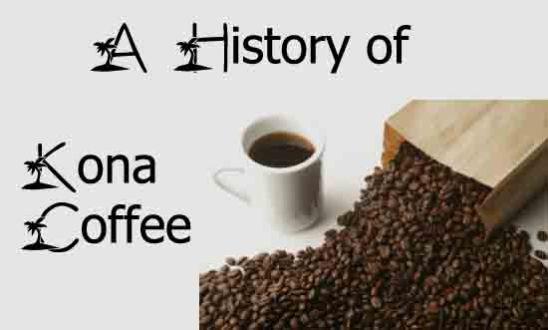 history of kona coffee