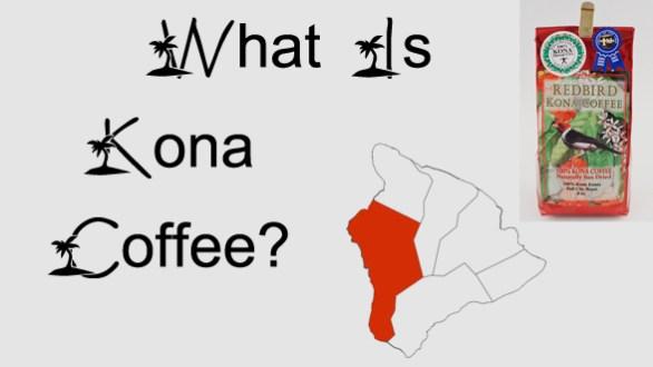 What is kona coffee
