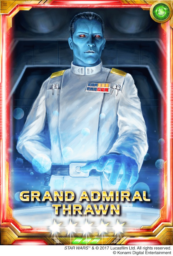 KONAMI Brings Grand Admiral Thrawn And Sabine Wren From
