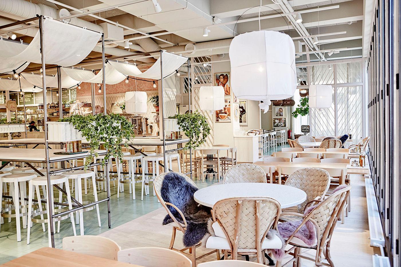 Restaurang koncept Åhléns