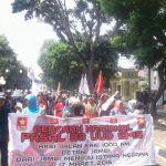 40 Perempuan Petani Jalan Kaki dari Jambi ke Jakarta