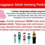 Infografis 13 Anggapan Salah tentang Perkosaan