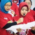 Nila dan Mala, Buruh Outsourching Pembaca Deklarasi
