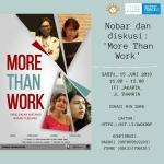More Than Work, Potret Buram Tubuh Perempuan di Media
