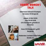 Konde Women's Talk: Kekerasan Seksual di Kampus
