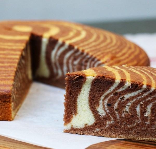 Торт Зебра на сметане: классический рецепт, ингредиенты ...