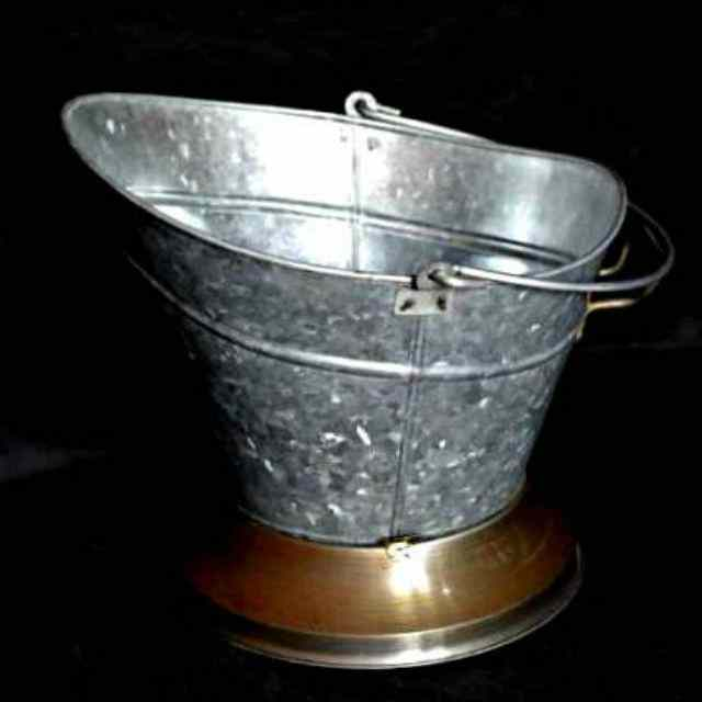 Galvanized Steel Coal Bucket