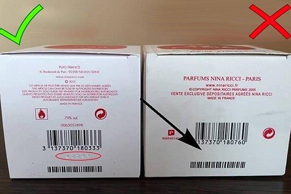 Comment déterminer le faux parfum de l'original