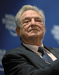 George Soros - Bildquelle: Wikipedia / Copyright by World Economic Forum. swiss-image.ch/Photo by Sebastian Derungs