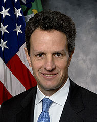 Timothy Geithner - Bildquelle: Wikipedia / United States Treasury Department